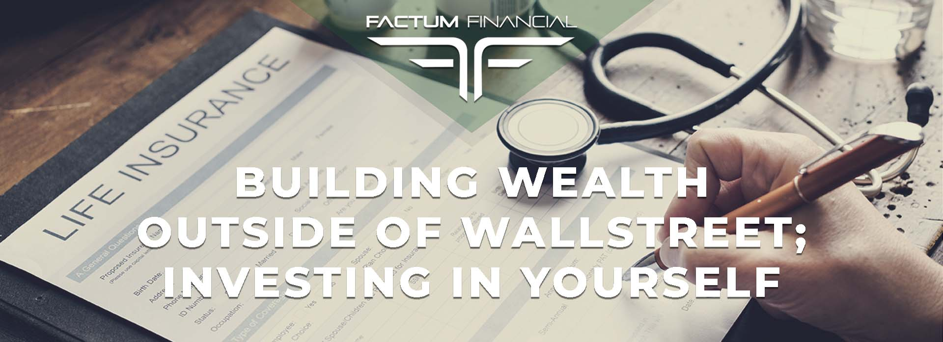 Building Wealth Outside Of Wall Street: Investing In Yourself
